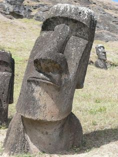 Easter Island, Chile  I've always wanted to see it