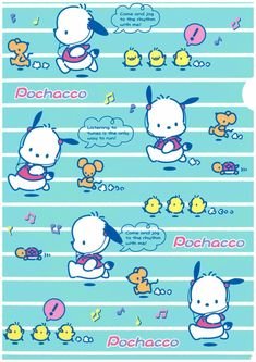 Hello Kitty Characters, Sanrio Characters, Pochacco Sanrio, Sanrio Wallpaper, Apple Watch Faces, Boy Character, Little Twin Stars, Animal Design, Cute Wallpapers