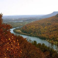 """Chattanooga, another """"just passing through"""" town. Beautiful forests, nonetheless."""