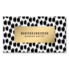 Animal Chic | Business Cards. This is a fully customizable business card and available on several paper types for your needs. You can upload your own image or use the image as is. Just click this template to get started!