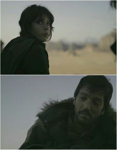 Cassian and Jyn | RebelCaptain | Star Wars | Rogue One tumblr