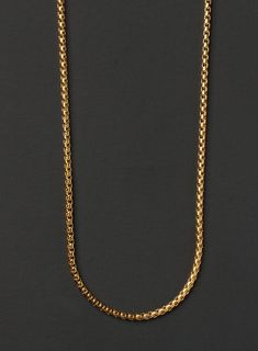Chelsea Jewelry Basic Collections Italian Designed 1.6mm Wide 18K Rose Gold Twisted Flat Chain Necklace.