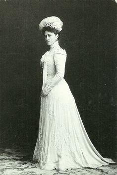 Russia - Grand Duchess Elizabeth Feodorovna (1884)
