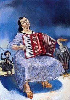 figuration feminine, femmes artistes peintres women artists painters : 1935 Rego Paula