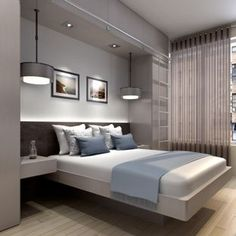 Modern Bedroom Designs With nifty Modern Master Bedroom Design Ideas Remodels Photos Simple Modern Room Design, Simple Bedroom Design, Modern Master Bedroom, Modern Bedroom Furniture, Stylish Bedroom, Modern Decor, Design Design, Furniture Ideas, Furniture Design