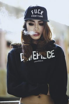 Girl photography - Fuck Everything #girl #smoke