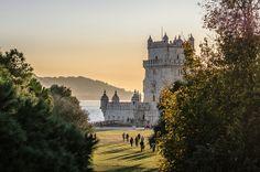 Lumières du soir | Flickr - Photo Sharing! Torre de Belem, Belem Tower, Lisboa, Lisbon, Portugal