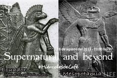 Ecuador and Mesopotamia have the same eagle-like deity