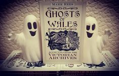 """GHOSTS OF WALES Join Mark Rees - host of the """"Ghosts & Folklore of Wales"""" podcast and author of books such as """"Parnormal Wales"""" - for a curious journey through the """"most haunted"""" locations in Victorian Wales in search of real-life Welsh ghost stories: """"Spine-chilling reports of two-headed phantoms, murdered knights and spectral locomotives filled the pages of the press. Spirits communicated with the living at dark séances and caused workers to down tools at the haunted mines"""" Art by Sandra Evans History Of Wales, Archive Books, Old Pub, Ghost Hunters, Most Haunted, Hair Raising, Ghost Stories, Weird And Wonderful"""
