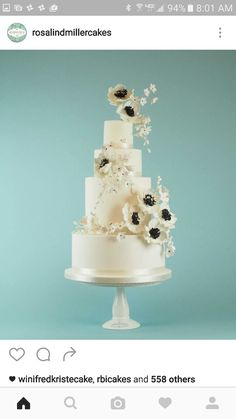 Gorgeous Lusters Version Of Our Gold Baroque Wedding Cake