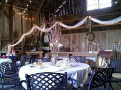 Beautiful rustic reception