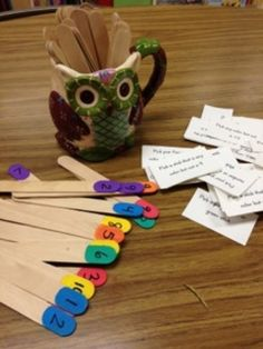 Make a Rainbow {DIY} Stick Game – Best game ever for language! Could be adapted for anything really!!!