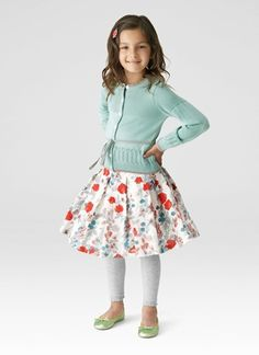 Cute little girls' clothing line.