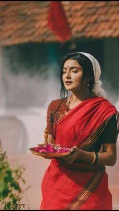 Beautiful Asian Girls, Beautiful Women, Bengali Bridal Makeup, Saree Look, Indian Girls, Messi, Indian Beauty, Art Reference, Pray