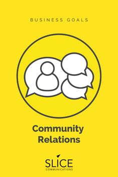 Having strong community relations can greatly boost the marketing and growth of a company. Reach out to Slice Communications for our top notch PR services. Marketing Communications, The Marketing, Business Goals, New Opportunities, Public Relations, The Fosters, Strong, Community, How To Get