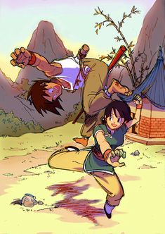  ★  Goku and Chi-Chi  ★ 