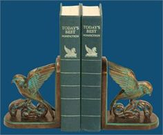 Chastain Bookends