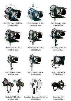 arri lights images Film and video lighting equipment for hire Bangkok & Pattaya Studio Lighting Setups, Photography Lighting Setup, Photo Lighting, Stage Lighting, Light Photography, Landscape Photography, Lighting Design, Photography Tips, Cinematic Lighting