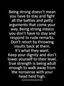 Heartfelt Quotes: True strength