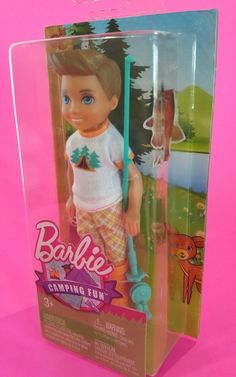 Barbie Mattel Camping Fun Otto Boy Doll 5 With Fishing Pole Accessory for sale online Barbie Club, Barbie Skipper, Mattel Dolls, Mattel Barbie, Barbie Camper, American Girl Furniture, Mermaid Wallpapers, Barbies Pics, Lps Toys