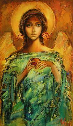 16 (Painting),  40x85 cm par Sergey Yatnov