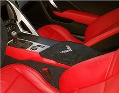 2014 - 2017 C7 Corvette Coupe 2-Door and Convertable Center Console Cover- Cotton Velour Add A Custom Touch To Any Corvette Interior. For product info go to:  https://www.caraccessoriesonlinemarket.com/2014-2017-c7-corvette-coupe-2-door-and-convertable-center-console-cover-cotton-velour-add-a-custom-touch-to-any-corvette-interior/
