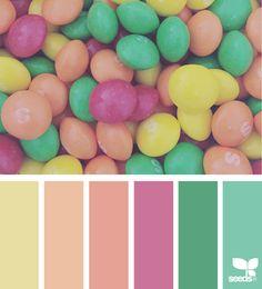 Candy Spectrum via @designseeds