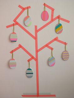 Der etwas andere Eierbaum zu Ostern. ;)
