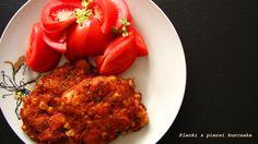 IMPRESJA smaku...: Placki z piersi kurczaka z kukurydzą (ekspresowe)