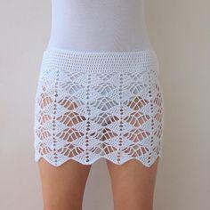 (4) Name: 'Crocheting : Summer beach skirt  - cover up