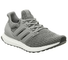0064fffa7 Mens Adidas Ultra Boost Trainers Grey Three Core Black Trainers Shoes
