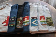 Plain Tees w/ Printed Pockets.
