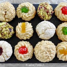 Italian Cookies, Italian Desserts, Cheesecake Desserts, No Bake Desserts, Sweet Recipes, Real Food Recipes, Almond Paste Cookies, Torta Angel, Torrone Recipe