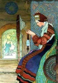 """""""Сказка о мертвой царевне"""""""