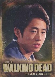 Walking Dead Season 2 Cryptozoic CB05 Glenn Character Bio Foil Card