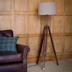 colonial tripod lamp by alison at home   notonthehighstreet.com