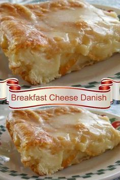 Serve this recipe for breakfast or even a dessert. So easy when you make it with crescent rolls and cream cheese. Breakfast Cheese Danish, Breakfast Desayunos, Breakfast Pastries, Breakfast Items, Breakfast Dishes, Breakfast Casserole, Cream Cheese Danish, Birthday Breakfast, Recipes For Breakfast