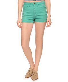 Side Zipper Denim Shorts | FOREVER21 - 2000035784