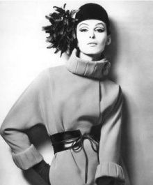 """1959 : Pierre Cardin presents his first ready-to-wear collection (the first of its kind as he invented """"le prêt à porter"""", and it scandalized the fashion powers in France who expelled him for attempting to make designer clothing more accessible.They later reinstated him, but he never showed his collections with them again)."""