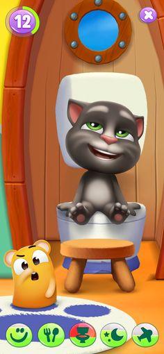 Mi Talking Tom 2 en App Store Talking Tom Cat 2, Ipod Touch, Mini Games, Games To Play, Ipad, Disney Art Style, Im App, Toms, Pets