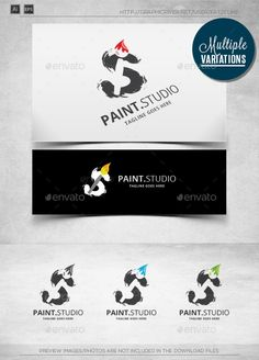 Brush S - Logo Template - Objects Logo Templates