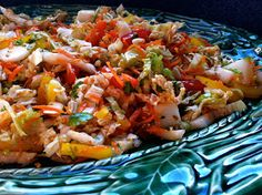 Husband Tested Recipes From Alice's Kitchen: Spicy Gingered Asian Slaw