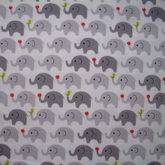 Japanese Fun Time Elephants. Fabricinspirations