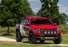 2012 Roush Ford F-150 SVT Raptor 4x4 muscle truck t wallpaper