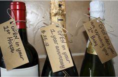 Gift idea for wine themed wedding shower