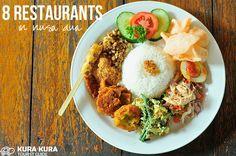 8 Restaurants in Nusa Dua #bali #nusadua #restaurants