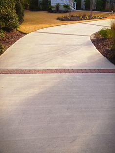 Brick driveway details