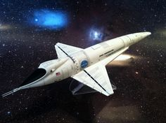 Orion III Space Clipper from 2001: A Space Odyssey — Moebius model kit, by Peter Matthews (ProBuilt SciFi)