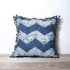 Oh #Shibori. The fact that it's #FairTrade makes it ten times better. These pillows are made by a small group of mostly women artisans in a dry desert climate of western Rajasthan, India, where people rely on crafts, tourism, and mining for their livelihoods.