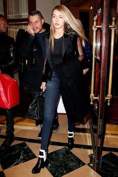 Gigi Hadid en Par�s